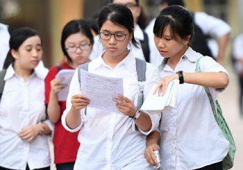 Những quy định thí sinh thi THPT quốc gia không thể quên